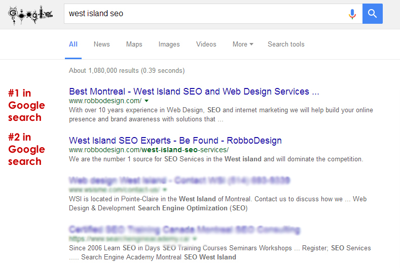 West Island SEO Expert