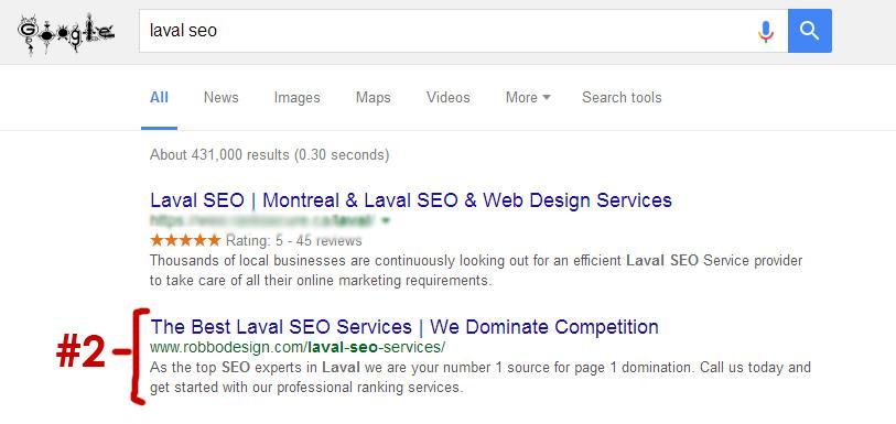 Laval SEO Expert