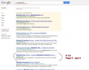 SEO Strategy Results