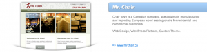 Portfolio - Mr Chair Montreal Chairs